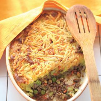 Рецепт Картофельная запеканка с бараниной