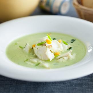 Рецепт Рыбный суп с петрушкой, картофелем и кукурузой в мультиварке