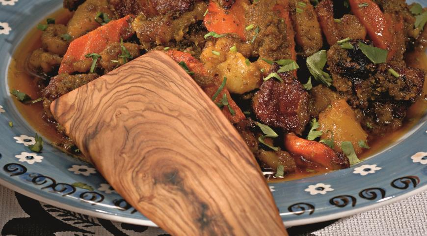 Рецепт Тунисский таджин