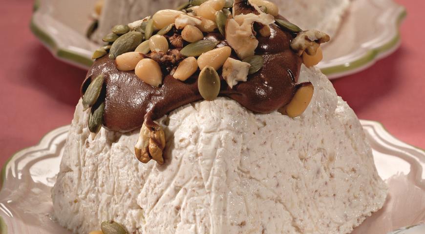 Рецепт Пасха с шоколадом и орехами