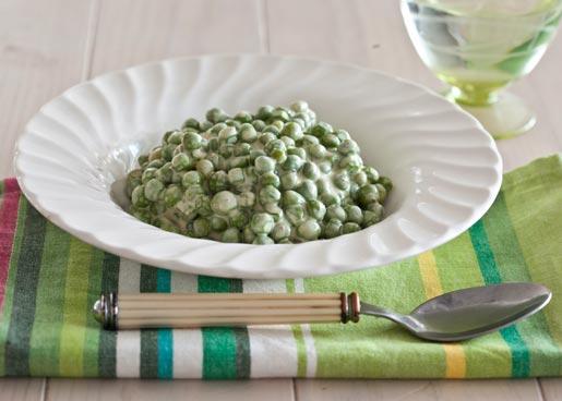 Рецепт Зеленый горошек в соусе