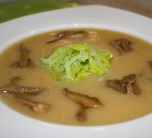 крем суп с грибами сушеными рецепт с фото