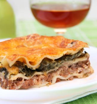 Рецепт Лазанья с овощами и говядиной
