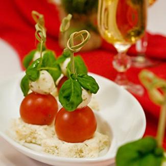 Рецепт Канапе в итальянском стиле