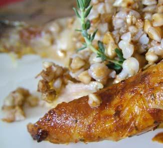 Рецепт Цыпленок, фаршированный гречкой