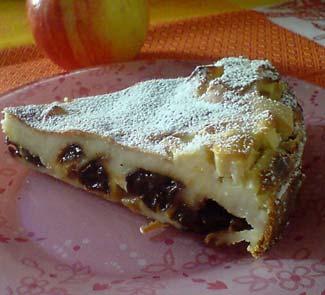 Рецепт Фар с черносливом и яблоком