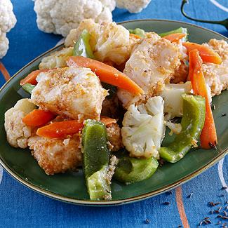 Рецепт Рыбное рагу с овощами в мультиварке