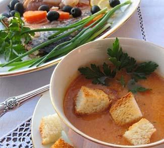 Рецепт Какавья (рыбацкая похлебка по-гречески)
