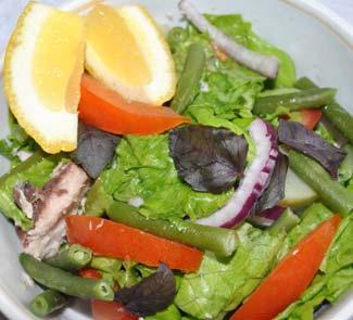 Рецепт Рыбный салат Неаполь