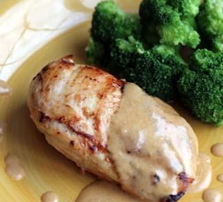 Рецепт Куриные грудки с классическим французским соусом