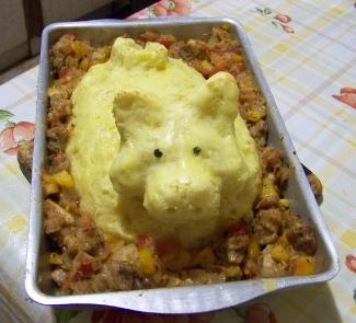 Рецепт Картофельный поросенок для средиземноморских гостей