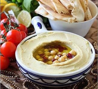 Рецепт Хумус (дип из гороха нут)