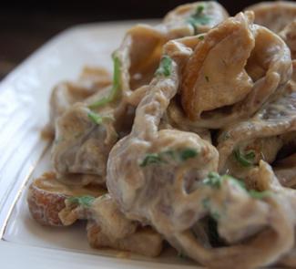 Рецепт Грибные папарделли с белыми грибами