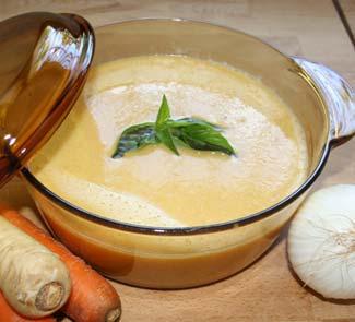 Рецепт Крем-суп Ахумадо с морковью