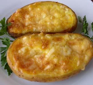 Рецепт Жюльен из тыквы по-марсельски в картофельных лодочках