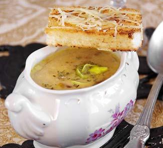 Рецепт Сырно-луковый суп