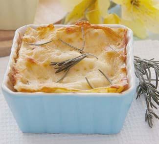 Рецепт Порционная лазанья с баклажанами