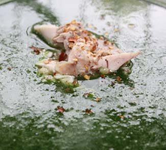 Рецепт Суп-пюре из шпината с копченой курицей