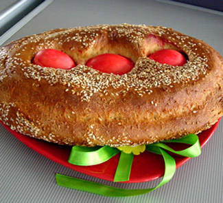 Рецепт Греческий пасхальный пирог