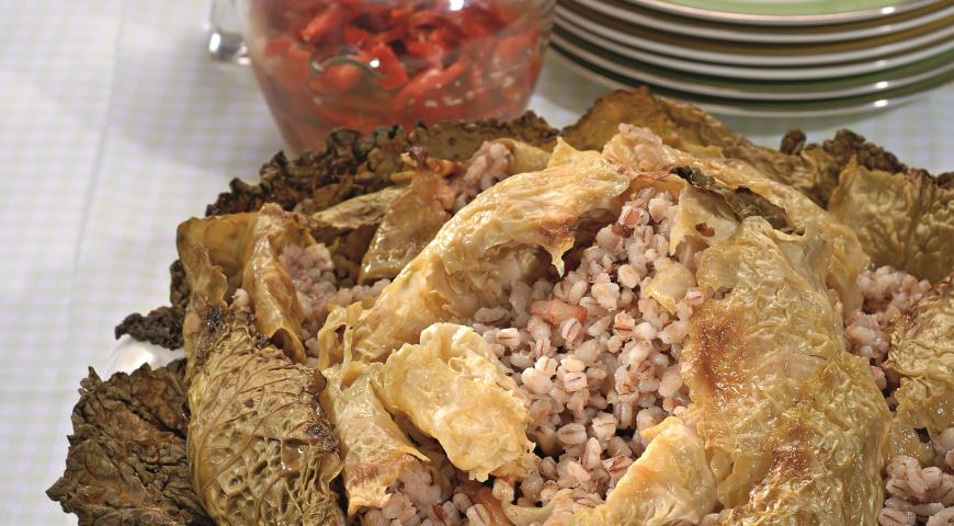 Рецепт Фаршированная савойская капуста