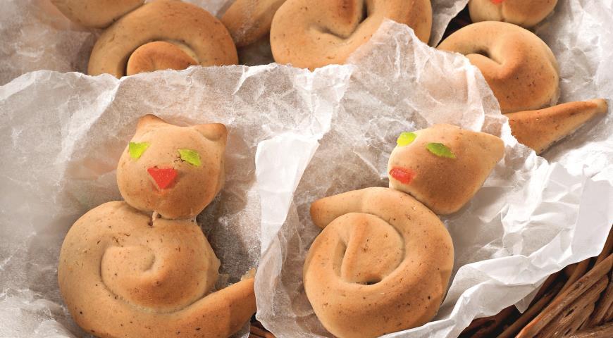 Рецепт Пасхальное печенье Котята