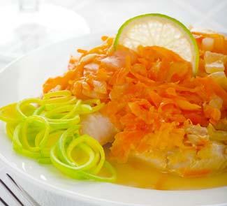 Рецепт Рыба под апельсиновым маринадом