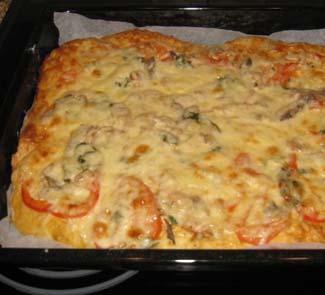 Рецепт Пицца Королевская