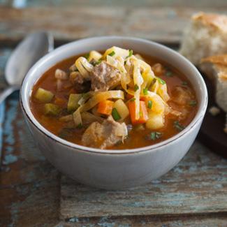 Рецепт Густой овощной суп в мультиварке
