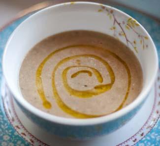 Рецепт Суп-пюре из каштанов
