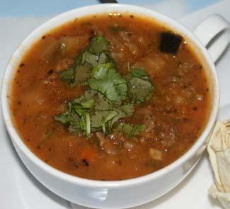 Рецепт Густой суп гуляш