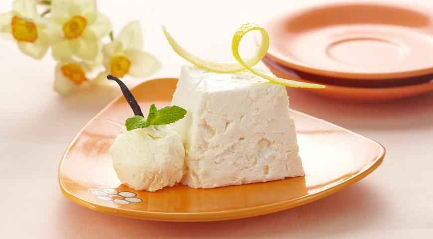 Рецепт Лимонная пасха из маскарпоне