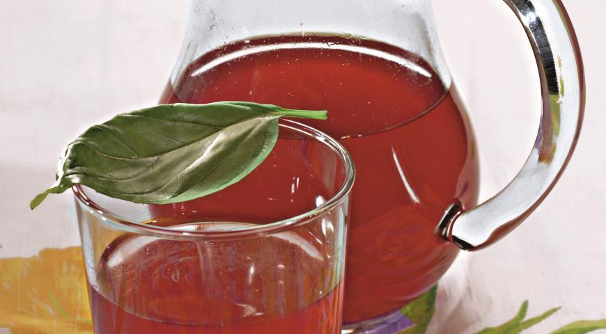 Рецепт Брусничный напиток