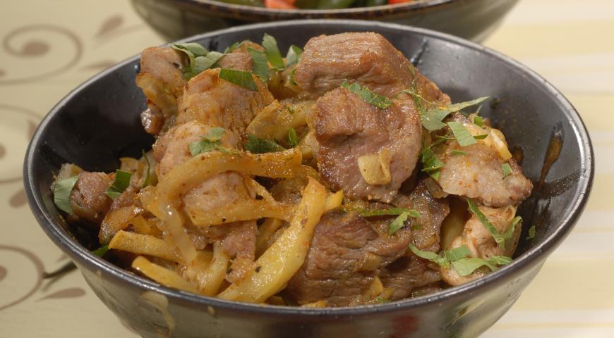 Рецепт Баранина по-ирански