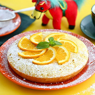 Рецепт Апельсиновый кекс в мультиварке