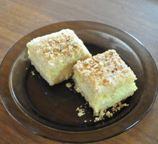 Рецепт Пирог тертый с творогом