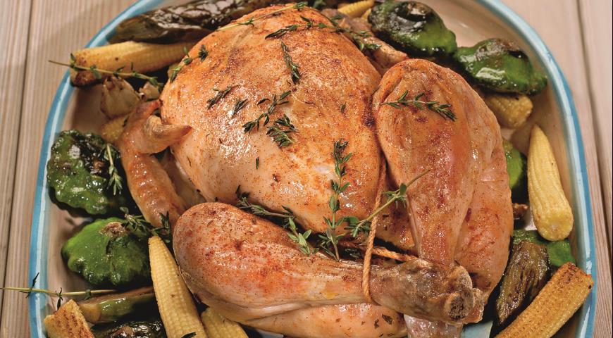 Рецепт Курица с пряными травами