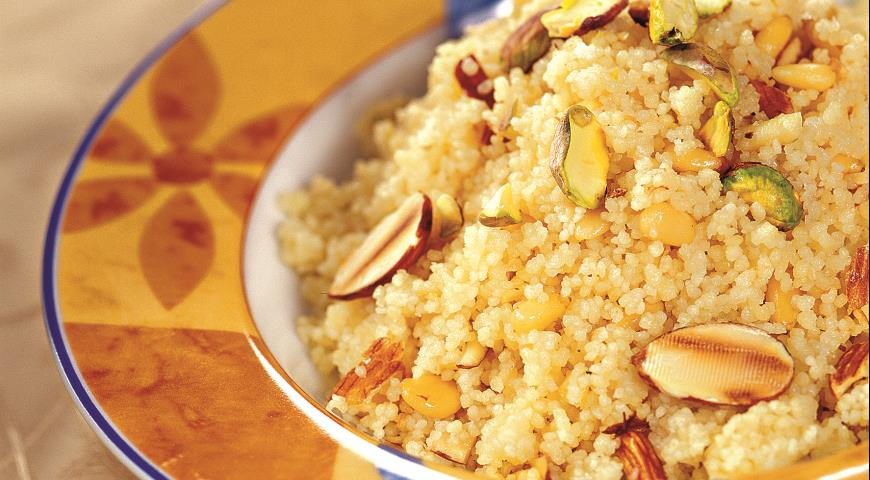 Рецепт Кускус с орехами