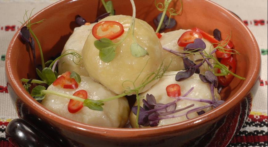 Рецепт Картофельные клецки со свининой