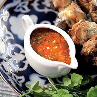 Рецепт Томатный соус к шашлыку