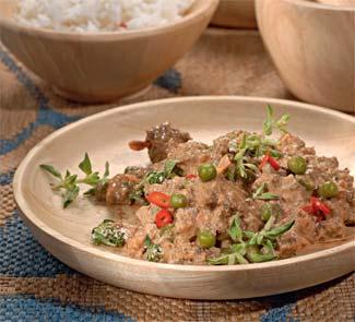 Рецепт Кима-матар, индийское блюдо