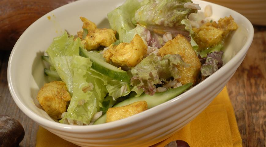 Рецепт Швейцарский салат с перловкой