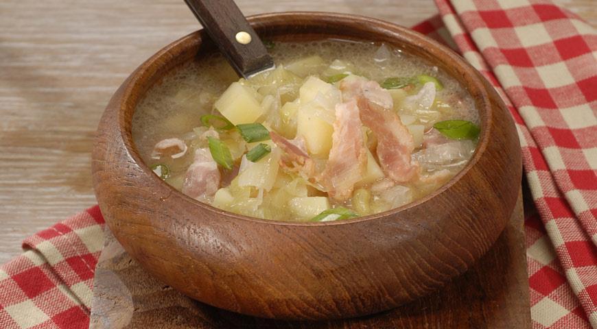 Рецепт Суп из картофеля с луком-пореем