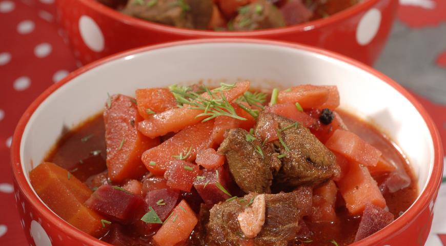 Суп из бычьих хвостов рецепт с фасолью
