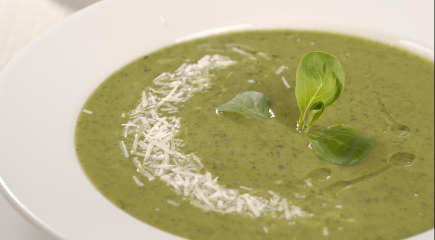 Рецепт Весенний суп из корн-салата