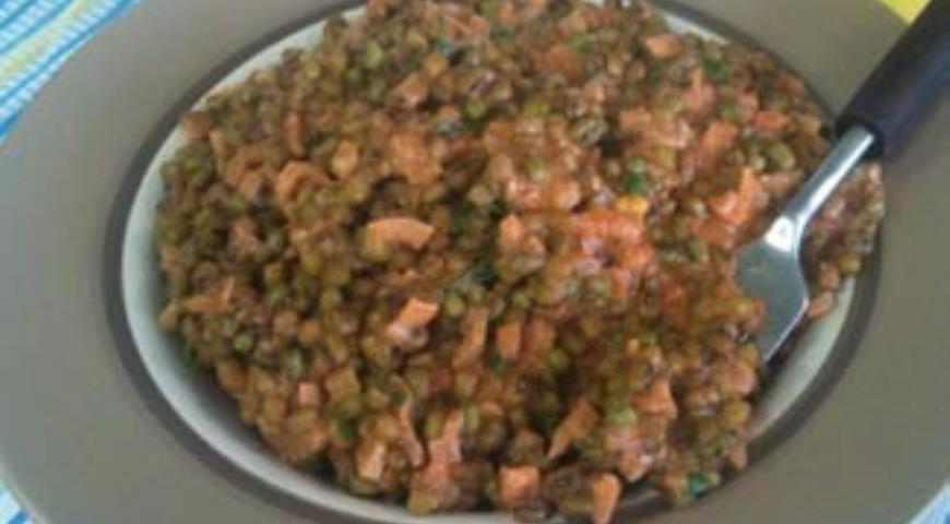 Рецепт Паприкаш из зеленой фасоли