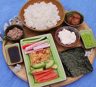 Рецепт Темаки-дзуси (темаки-суси)