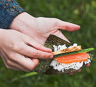 Рецепт Омлет для темаки-дзуси
