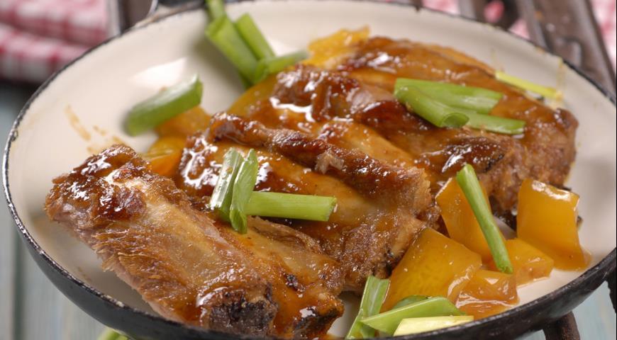Рецепт Свиные ребрышки в китайском стиле