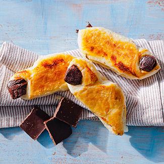 Рецепт Слоеные рулетики с шоколадом в мультиварке