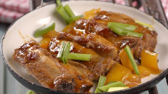 Свиные ребрышки в китайском стиле